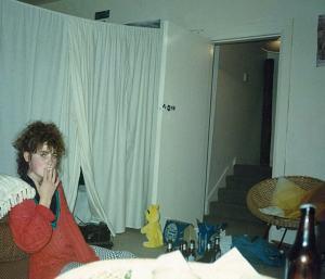 Angela Barnett Stunt Chicken 1989 smoking